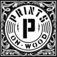 Leading Printing Firm Logo: Prints on Wood